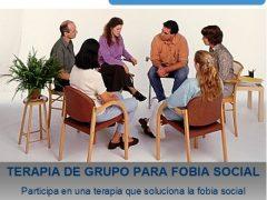 Terapia de grupo para Fobia Social
